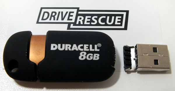 USB memory stick / flash drive data recovery or repair process